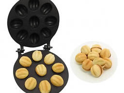 Орешница форма для выпечки крупных орешков (9 половинок. ..