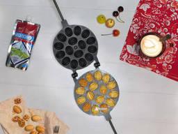 Орешница на 16 орешков с начинкой с антипригарным / тефлоновым покрытием
