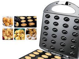 Орешница Sonifer 220V домашний орех 24 шт , аппарат для приготовления сладких орехов