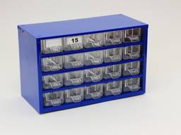Органайзер К20 кассетница сортовик, ящик, ячейка для мелочей