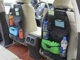 Органайзер Кофр подвесной на спинку сиденья в авто.