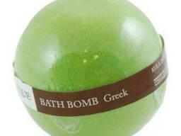 Organique шипучий шар для ванны греция 170г