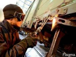 Организация текущих ремонтов железнодорожных грузовых вагоно