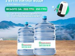 Доставка води та помпу в подарунок