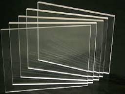 Оргстекло литое прозрачное 1 мм ТОСП