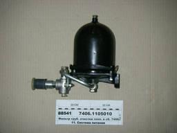 Ось балансира, насос водяной, радиатор, глушитель на Камаз - фото 8