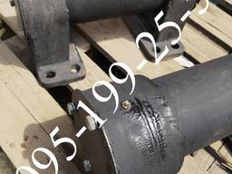 Ось балансира с бугелями на ПРТ-10, МЖТ-10
