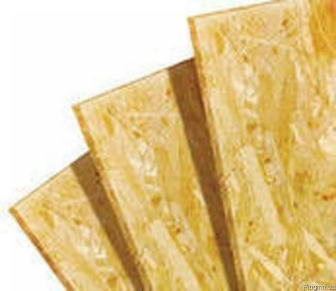 OSB плита 15мм (1,25х2,5) для стен, потолка, полов, перегородок