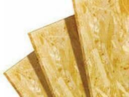 OSB плита 15мм (1, 25х2, 5) для стен, потолка, полов, перегородок