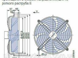 Осевой вентилятор Ziehl-Abegg FN050-SDK. 4F. V7P1