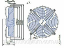 Осевой вентилятор Ziehl-Abegg FN050-VDK. 4I. V7P1
