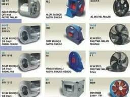 Осевые вентиляторы для дымоходов и экстракторов