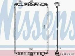Основной радиатор DAF XF 105 MX300/MX340/MX375 10.05-