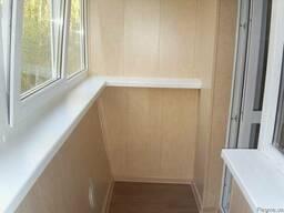 Особенности отделки балкона пластиковыми панелями