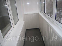 Остекление балконов. Утепление балконов. Французский балкон. - фото 8