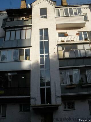 Остекление многоэтажных домов, лестничных маршей Кривой Рог