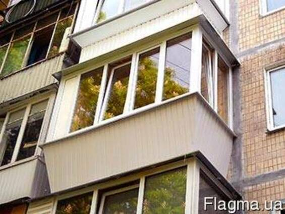 Скління, утеплення балкона. Балкон під ключ!