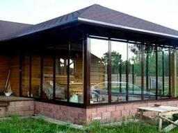 Остеклять коттеджные балконы