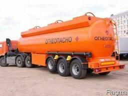 Осуществляем доставку опасных грузов (АДР) из РФ и РБ