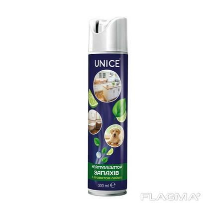 Нейтралізатор запахів з ароматом лайму Unice, 300 мл