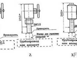 Отборные устройства для подключения импульсных линий