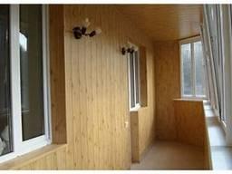 Отделка балкона и лоджии в Харькове