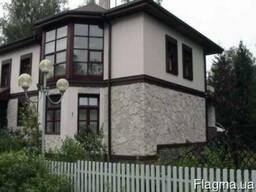 Отделка, облицовка, ремонт, покраска фасадов домов и коттедж