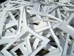 Отходы АБС пластика, полистирола, акрила, ПВХ. Цена от 1 грн