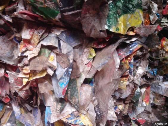 Отходы от переработки ПЭТ бутылки
