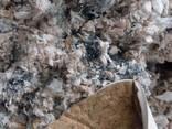 Отходы швейного производства - обрезки дублированной ткани - фото 1