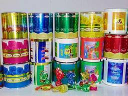 Отходы упаковки для кондитерских изделий (брак, обрезь)