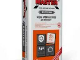 Отличная смесь-клей для пенопласта Master-Exoterm 25кг