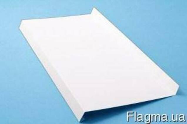 Отлив оконный в полимерном покрытии RAL-9003 белый