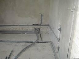 Отопление(электрическое и газовое), Сантехработы(водопровод)