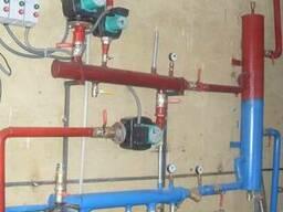 Отопление всех видов монтаж ремонт.водоснабжение сантехника