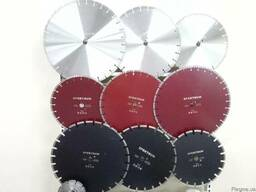 Отрезные алмазные диски для резки бетона, асфальта, камня