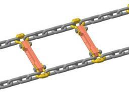 Отрезок скребковый цепи СП 26У