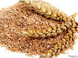 Отруби пшеничные фасованные 25кг.