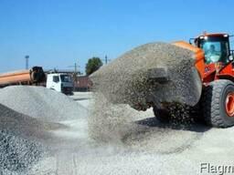 Отсев. Щебень. Песок. Гарцовка. Кирпич. Цемент. Шлакоблоки.