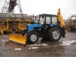 Отвал для снега и грунта на трактор МТЗ, Борэкс, Беларусь,