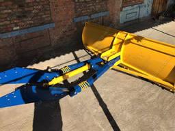 Отвал (лопата) снегоуборочный на МТЗ, ЮМЗ, Т-40 для снега и