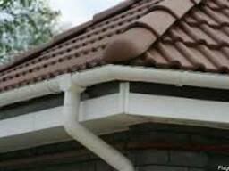 Отведение воды с крыши.