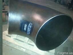 Отвод Ду 700 720х10 90 градусов БШ Гост 30753 купить цена