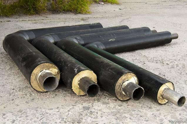 Отвод стальной теплоизолированный 273/400 для теплотрасс