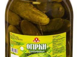 Огурцы, помидоры консервированные 3л ско ( упаковка 4шт)