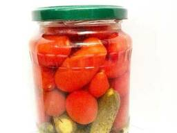 Овощное ассорти Черри корнишоны маринованные 720мл