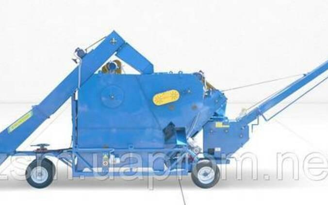 ОВС-70М3 очиститель вороха самопередвижной-зернометатель