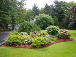 Дачный участок озеленение, ландшафтный дизайн участка