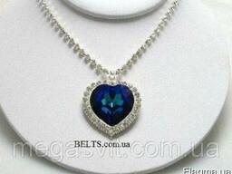 Ожерелье «Сердце океана», кулон в виде сердца (копия ожерель
