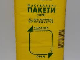 Пакет фасовочный 14х32см HDPE, прозрачный, 1000 шт